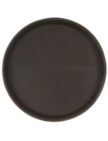 Поднос для официанта из стекловолокна нескользящий коричневый HLS 40 см (7381/1), фото 2
