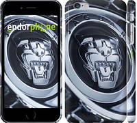 """Чехол на iPhone 6s Plus Jaguar. Logo """"3163c-91"""""""