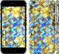 """Чехол на iPhone 6s Шеврон v5 """"1072c-90"""""""