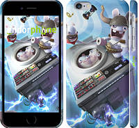 "Чехол на iPhone 6 Raving Rabbids: Travel in Time ""3018c-45"""