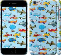 """Чехол на iPhone 6s Plus Воздушная техника """"1003c-91"""""""