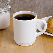 Чашка чайная белая высокая 260 мл Arcoroc Restaurant (36140)