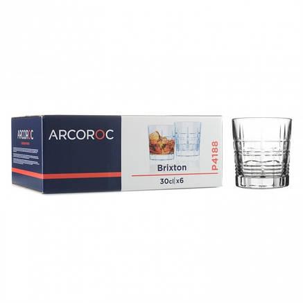 """Набір прозорих стаканів низьких для бренді Arcoroc """"Брікстон"""" 300 мл 6 шт (P4188), фото 2"""