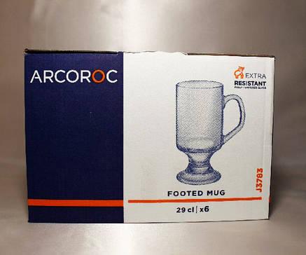 "Набор фужеров для латте Arcoroc ""Footed Mug"" 290 мл 6 шт (J3783), фото 2"