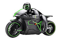 Мотоцикл радиоуправляемый 1:12 Crazon 333-MT01 (зеленый), фото 1