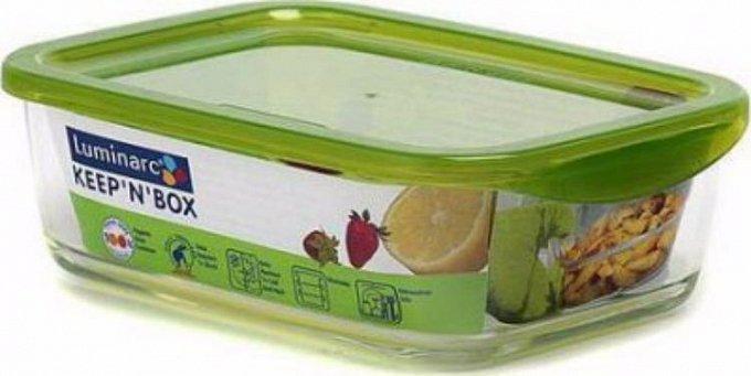 Контейнер стеклянный прямоугольный Luminarc Keep'n Box 820 мл (P4521)