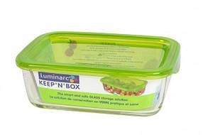 Контейнер стеклянный прямоугольный Luminarc Keep'n Box 820 мл (P4521), фото 2