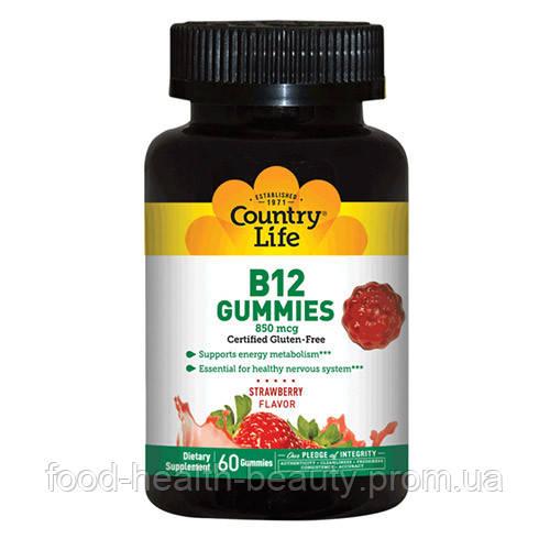 Витамин В12 Кантри Лайф Life 60 жевательных конфет