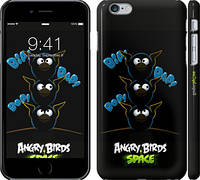 "Чехол на iPhone 6s Plus Angry birds. Space. Bip, Bop, Bap. ""539c-91"""