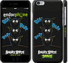 "Чехол на iPhone 6s Angry birds. Space. Bip, Bop, Bap. ""539c-90"""