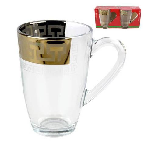 """Набір чашок """"Аква"""" Грецький візерунок GE03-5393, фото 2"""