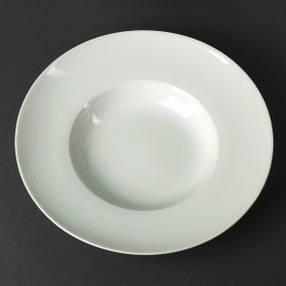 Тарелка для пасты фарфоровая 400 мл HLS (A1112), фото 2