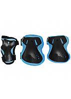 Защита детская для роликов, скейта, велосипеда, самоката SportVida SV-KY0005-L размер L Blue/Black