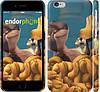 """Чехол на iPhone 6s Реальная белка """"2632c-90"""""""
