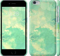 """Чехол на iPhone 6s Зеленые волны """"2696c-90"""""""