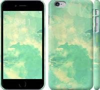 "Чехол на iPhone 6s Plus Зеленые волны ""2696c-91"""