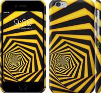 "Чехол на iPhone 6s Желто-черный гипноз ""2915c-90"""