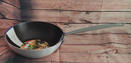 Сковорода WOK з антипригарним покриттям HLS 28см (7798Т), фото 2