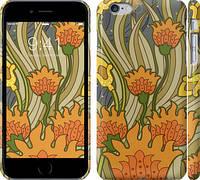 "Чехол на iPhone 6s Plus Оранжевые цветы v2 ""1920c-91"""