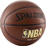 Баскетбольний м'яч Spalding NBA Tack-Soft IndoorOutdoor Basketball розмір 7 Оригінал, фото 2