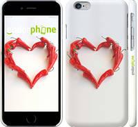 """Чехол на iPhone 6s Любовь с перцем """"730c-90"""""""