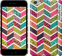 """Чехол на iPhone 6s Plus Шеврон v3 """"1058c-91"""""""