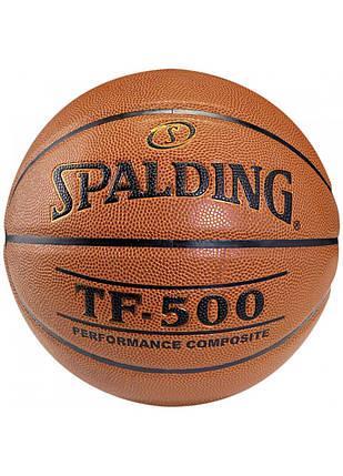 М'яч баскетбольний Spalding TF-500 IN/OUT Size 7, фото 2