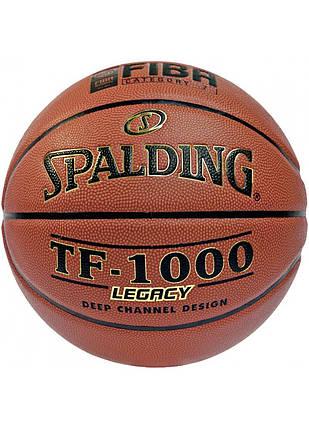 Мяч баскетбольный Spalding TF-1000 Legacy FIBA Size 7, фото 2
