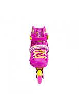 Роликовые коньки Nils Extreme NA1005A Size 39-42 Pink, фото 2