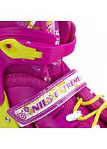 Роликовые коньки Nils Extreme NA1005A Size 39-42 Pink, фото 3