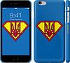 """Чехол на iPhone 6s Plus Супер Тризуб """"1164c-91"""""""