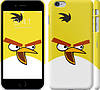 "Чехол на iPhone 6s Plus Angry birds. Yellow. ""544c-91"""