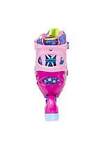 Роликовые коньки Nils Extreme NJ4605A Size 38-41 Pink, фото 3