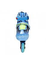 Роликовые коньки Nils Extreme NJ4605A Size 30-33 Blue, фото 3