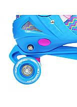 Роликовые коньки Nils Extreme NQ4411A Size 34-37 Blue, фото 2