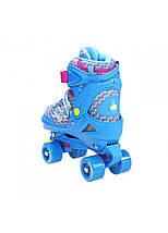 Роликовые коньки Nils Extreme NQ4411A Size 34-37 Blue, фото 3