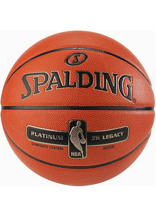 Мяч баскетбольный Spalding NBA Platinum ZK Legacy Size 7, фото 2