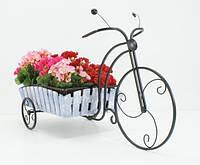 Подставки  кованые для цветов,велосипед 1 большой Кантри, фото 1
