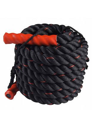 Канат для кроссфита SportVida Battle Rope 15 м SV-HK0173, фото 2
