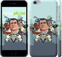 "Чехол на iPhone 6s GTA 5. Heroes ""950c-90"""