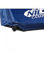 Самонадувающийся коврик Nils Camp NC4301 183 x 54.5 x 2.5 см Blue, фото 3