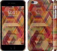 "Чехол на iPhone 6s Plus Геометрический узор ""904c-91"""