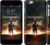 "Чехол на iPhone 6s Plus Battlefield 4. Одинокий воин ""614c-91"""