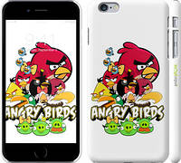 "Чехол на iPhone 6s Plus Angry birds ""537c-91"""