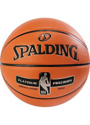 Мяч баскетбольный Spalding NBA Platinum Precision Size 7, фото 2