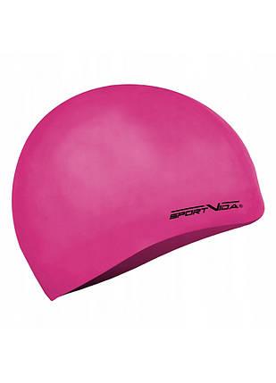 Шапочка для плавания детская SportVida SV-DN0019JR Pink, фото 2