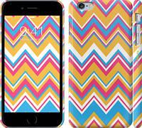 """Чехол на iPhone 6s Plus Шеврон v2 """"1057c-91"""""""
