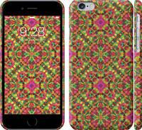 """Чехол на iPhone 6s Яркий узор """"1073c-90"""""""