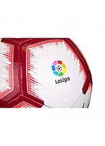 Мяч футбольный Nike La Liga Pitch SC3318-100 Size 5, фото 2