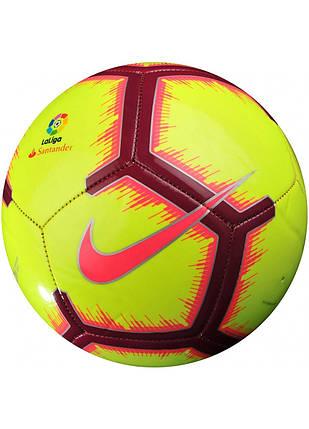 Мяч футбольный Nike La Liga Pitch SC3318-702 Size 5, фото 2